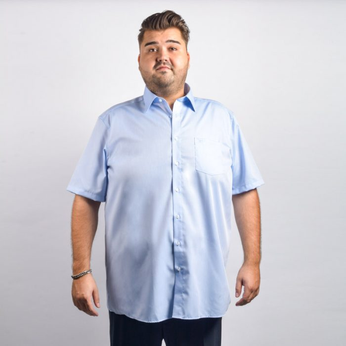 Casa moda overhemd licht blauw