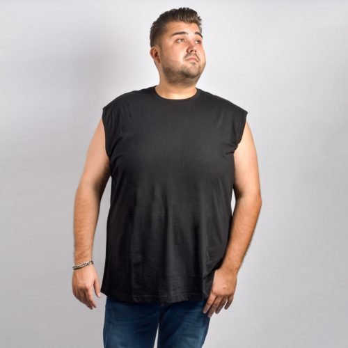 redfield mouwloos t-shirt zwart