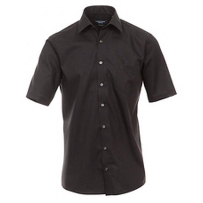 Prachtige basic overhemden van het merk Casa Moda gemaakt van een strijkvrije stof. %%sep%% Casa moda overhemd zwart
