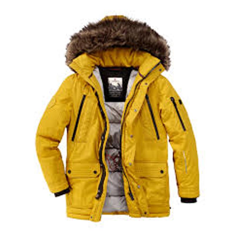Redpoint winterjas geel