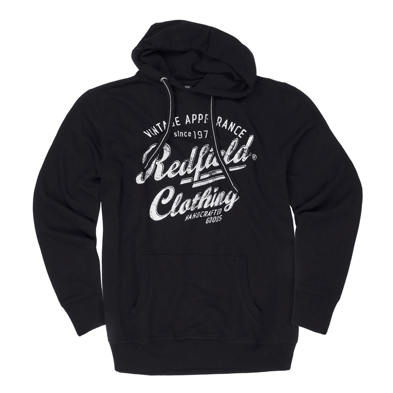 Redfield hoodie zwart