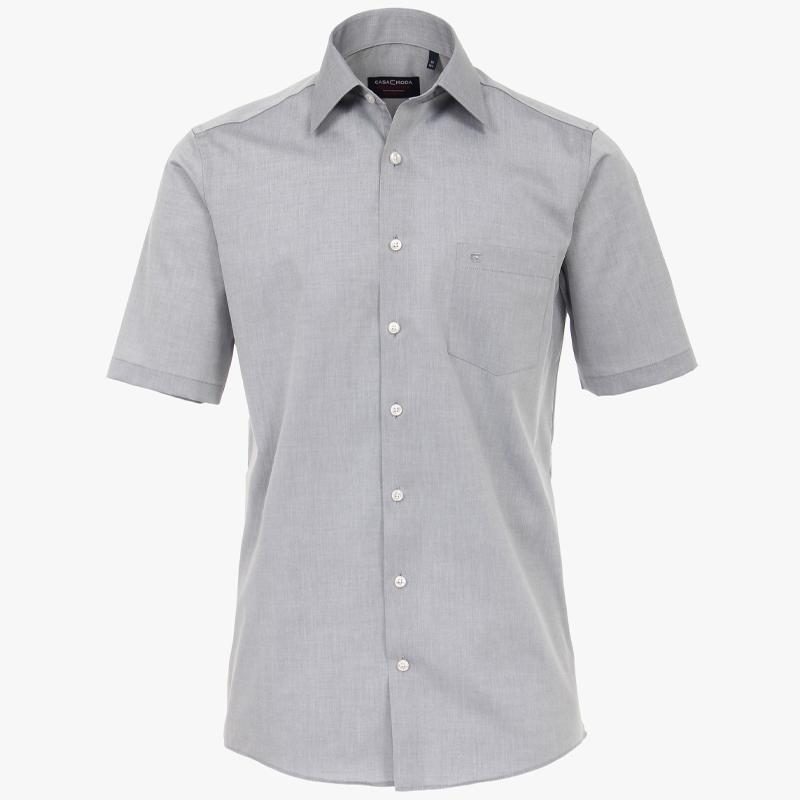 Casa moda overhemd licht grijs