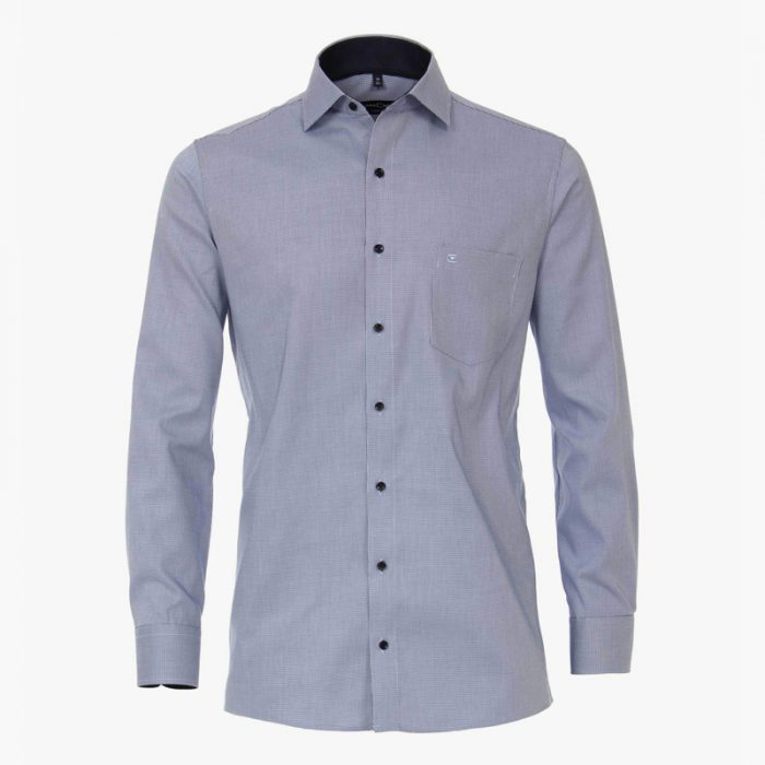 Casa moda overhemd blauw printje