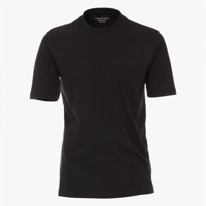 casa moda t-shirt zwart