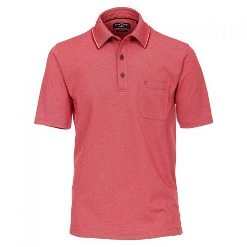 Casa moda polo rood gemêleerd