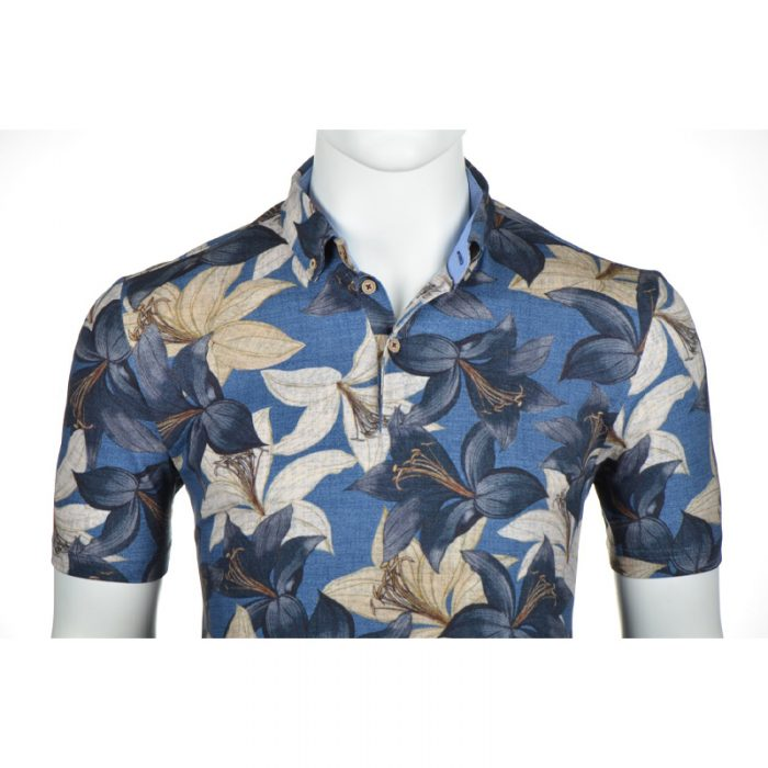 Culture polo orchidee print